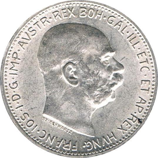 AUSTRIA. 1 CORONA. 1.914