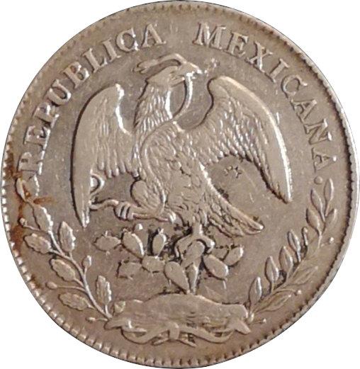 MÉXICO. 8 REALES. 1.876 (IC) GUADALAJARA
