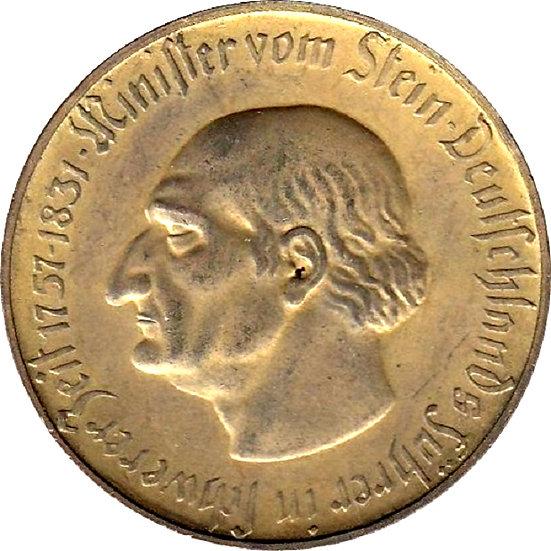 ALEMANIA. WESTFALIA. 5 MILLONES MARCOS. 1.923