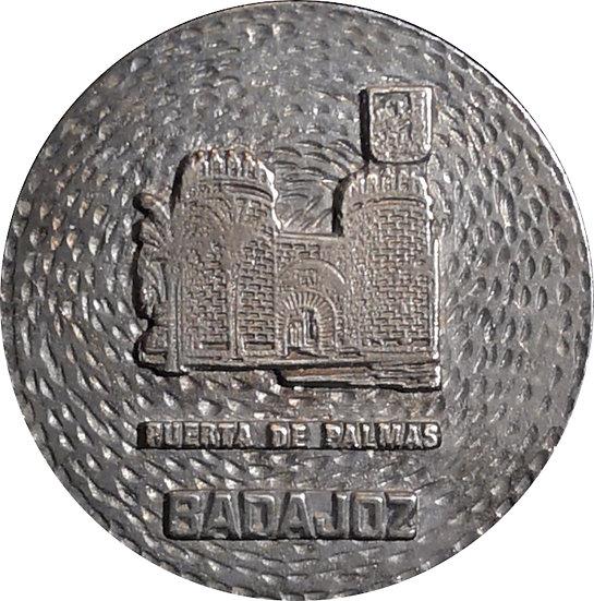 ESPAÑA. MEDALLA PUERTA DE PALMAS. BADAJOZ