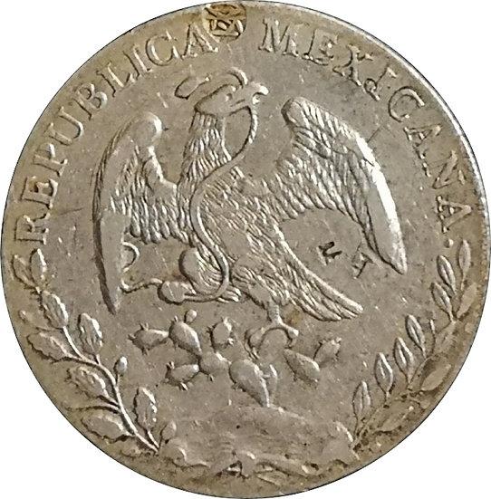 MÉXICO. 8 REALES. 1.890 (MH) MÉXICO