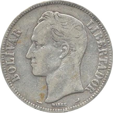 VENEZUELA. 5 BOLÍVARES 1.904