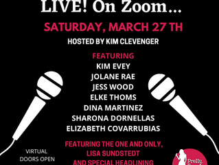 This Sat. Night! 3/27/21 Pretty Funny Women Zoom Show