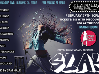 Performing Stand Up Feb. 27th@ Flappers in Burbank.
