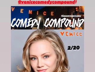 LIVE SHOWS ARE BACK!!!  at the VENICE COMEDY COMPOUND! Sat. Feb. 19, 2021.