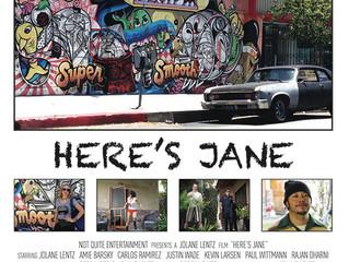 Here's Jane racks up numerous Awards attending 21festivals