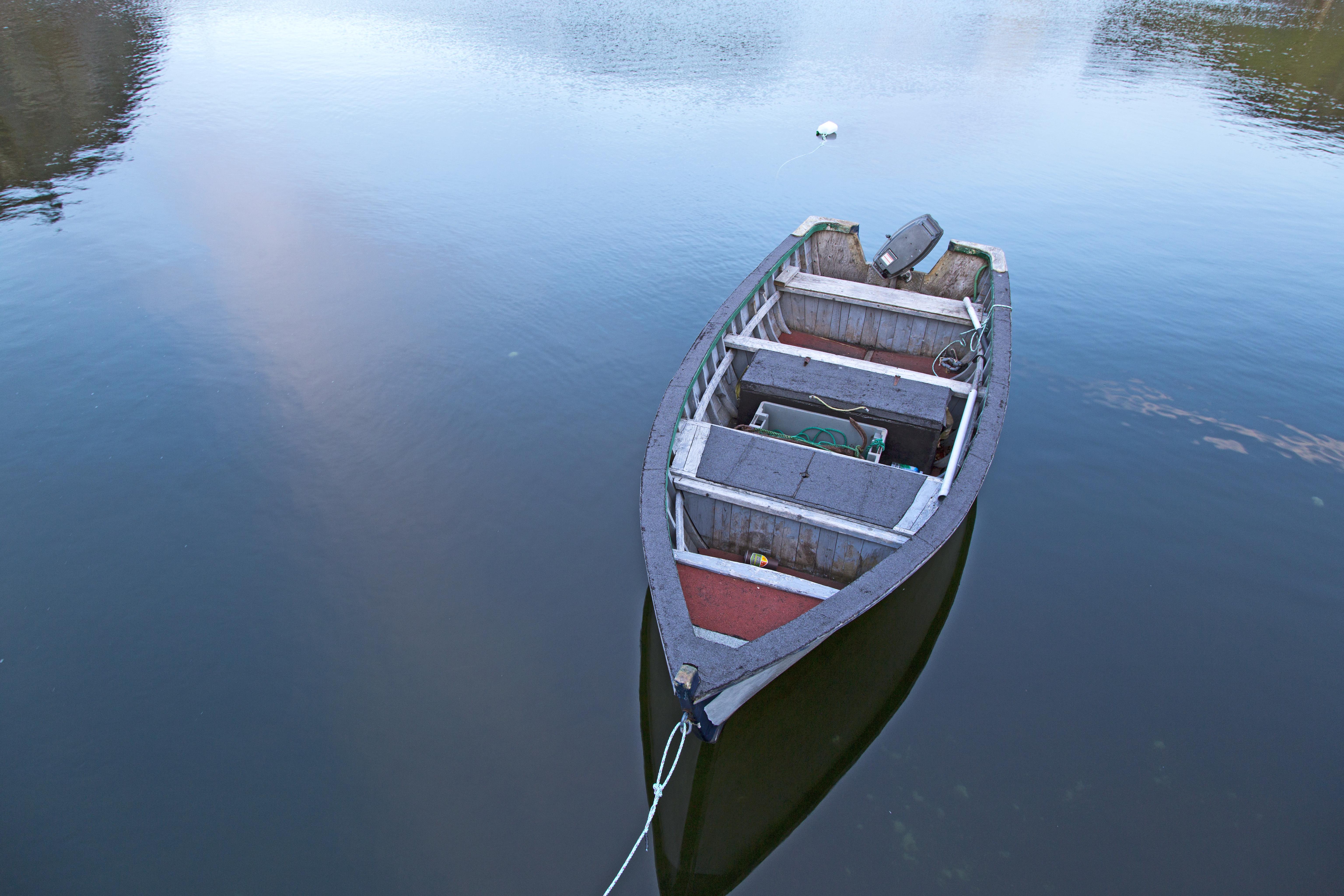 Boat in Quidi Vidi, Newfoundland