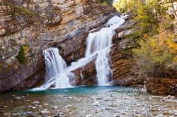 Cameron Falls, Waterton Park, AB