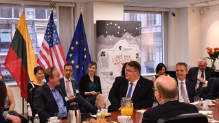 Breakfast Briefing with the Foreign Minister of Lithuania