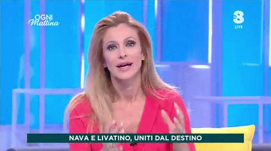 """Cristina Fiorentini ospite della trasmissione di SKY su TV8 """"Ogni Mattina"""" condotta da Adriana Volpe per parlare della difesa personale. Puntata del 23 settembre 2020"""