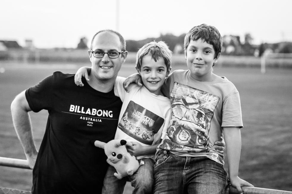 Jungs Familie, Familienfotografie