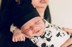 Babysmile, Neugeborenenfoto