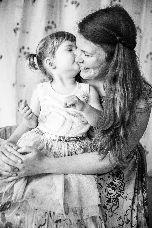 kuss, Familienfotografie