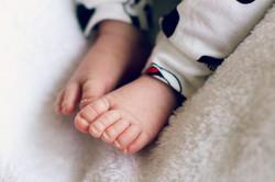 Babyfüsschen, Neugeborenenfoto