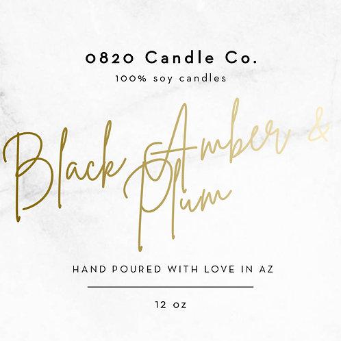 Black Amber & Plum