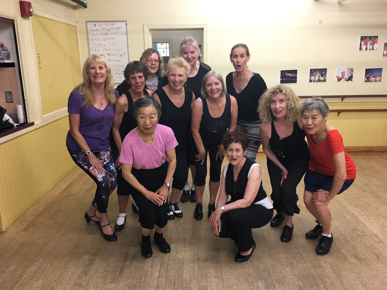 Class with Thelma Goldberg in Boston