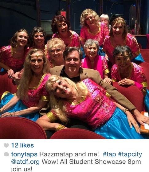 Razzmatap with Tony Waag in New York