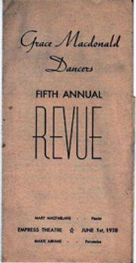 Grace Macdonald School of Dance Recital
