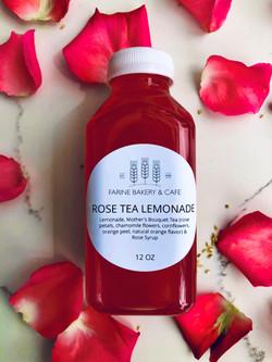 rose tea lemonade
