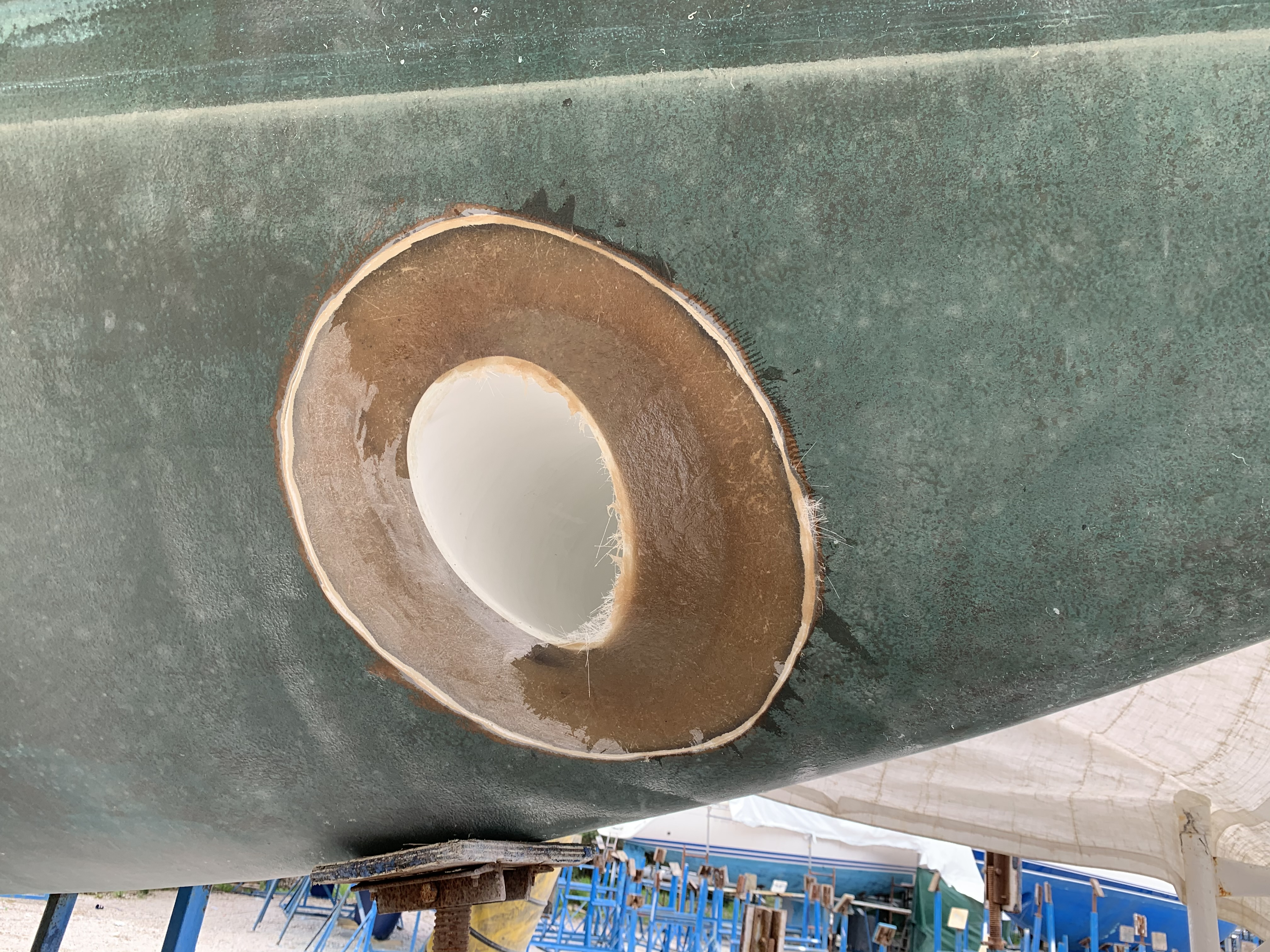 Bow Thruster construction and installation