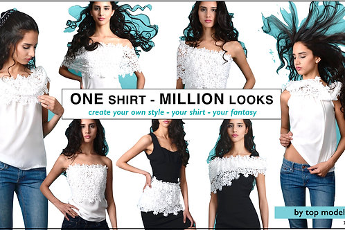 ONE shirt - MILLION looks