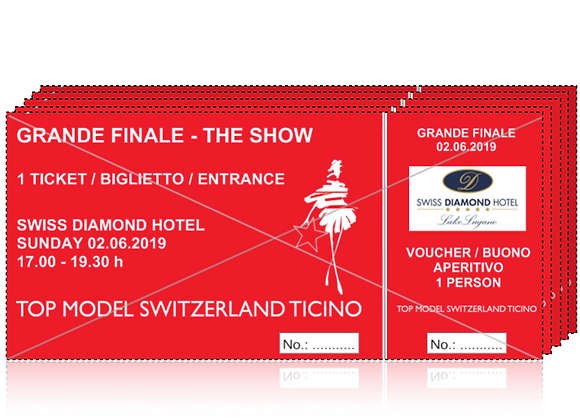 TICKET GRANDE FINALE THE SHOW