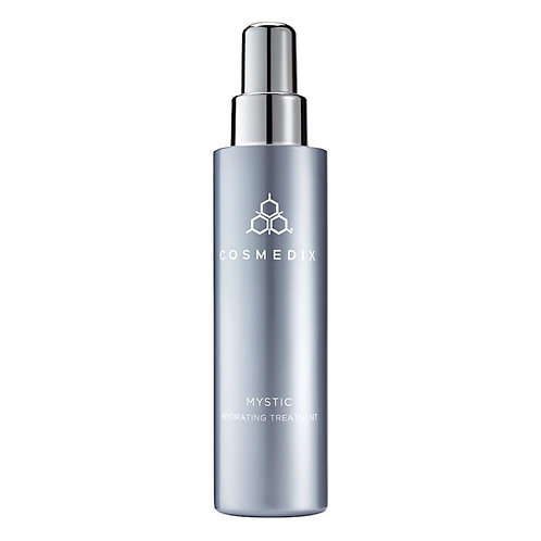 Mystic Hydrating treatment by Cosmedix, facial hydrating mist; sets make up; refresh and revitalises skin, mild anti bacteria