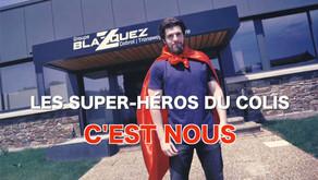 Les super-héros du colis, c'est nous !