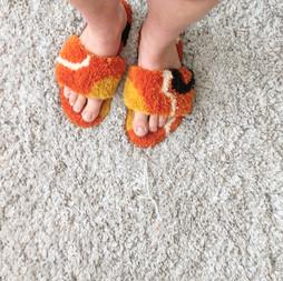 handtufted slippers  2019