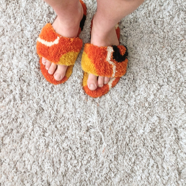 handtufted slippers  2019