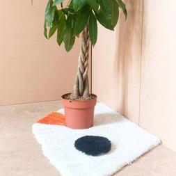 handtufted carpet for a planter  2019