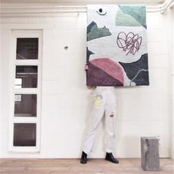 voor Hanne en Brecht 100 x 160 cm  2020