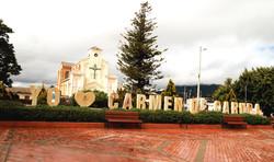 Parque principal Carmen de Carupa