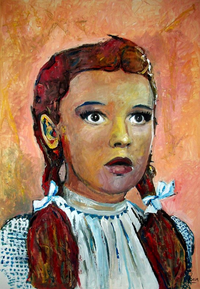 JUDY GARLAND - WIZARD OF OZ