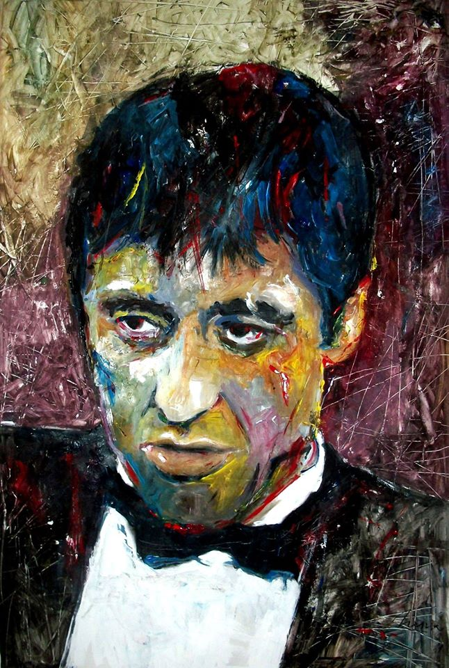 ALPACINO - TONY MONTANA - SCARFACE