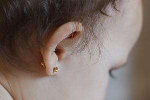 ear piercing for small children, one yea