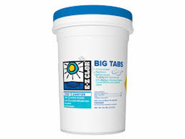 "3"" TRICHLOR TABS - 50LBS BUCKET"