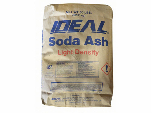 SODA  ASH - 50LBS BAG