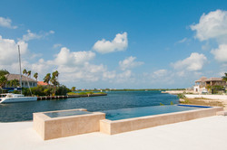 North Sound pool Oasis Pool and Spa Cayman Islands