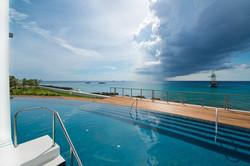 Ocean view pool Oasis Pools Cayman Islands