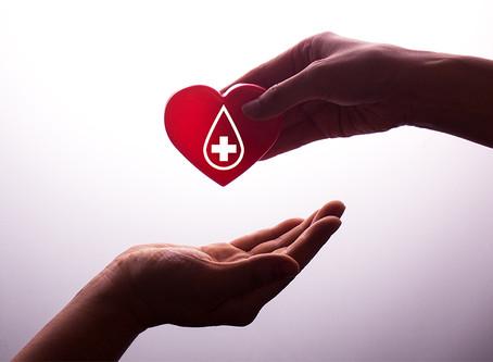Doe sangue. Doe vida.