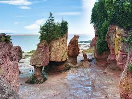 Lovers Arch and Bear Rock- Hopewell Rock
