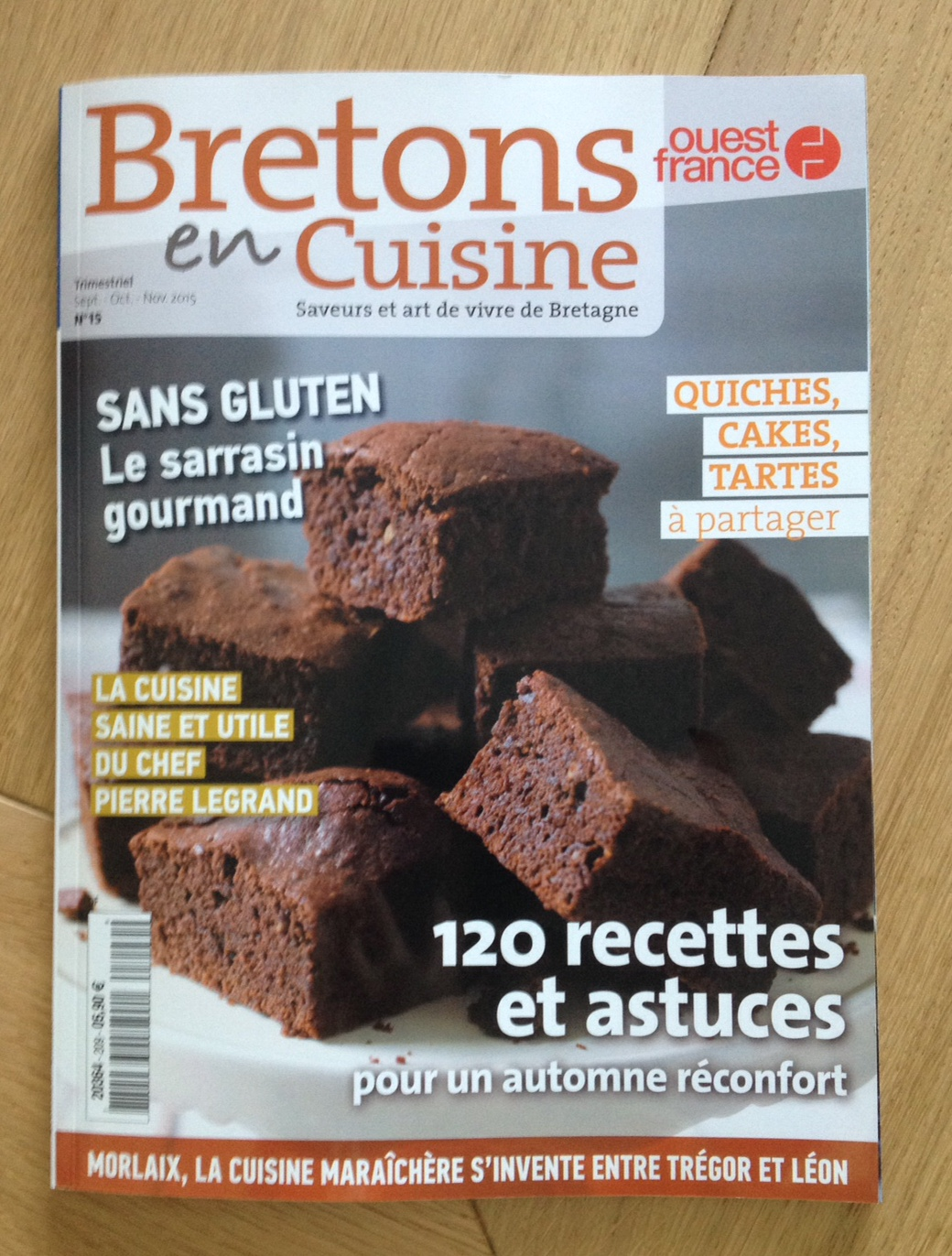 breton en cuisine.