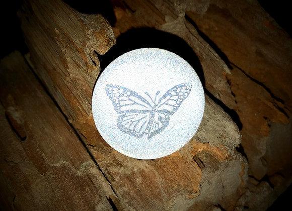 monarch, small pin