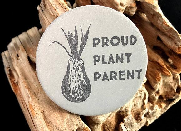 plant parent, large pin