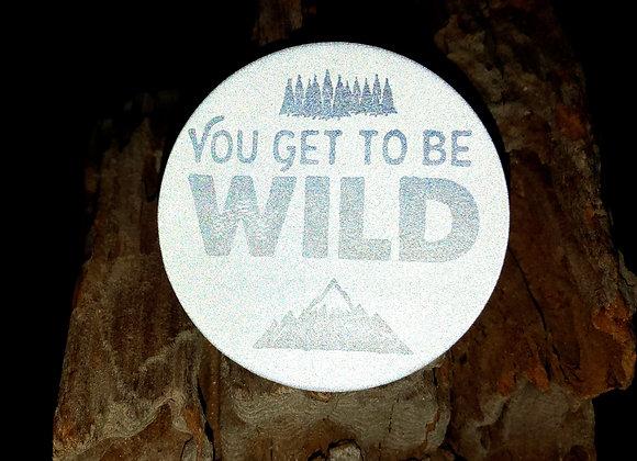 wild, large pin