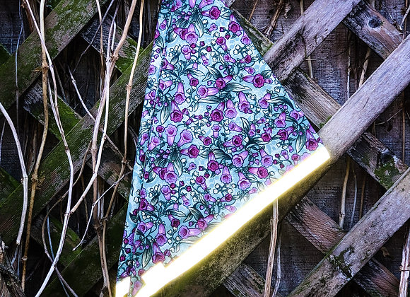 foxgloves reflective bandana