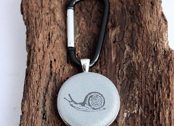 snail, keychain