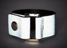 silver reflective cuff