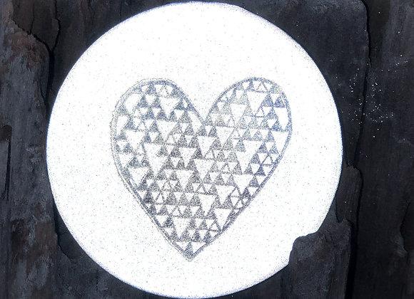 heart, large pin